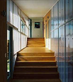 A beautiful example of our staircase joinery