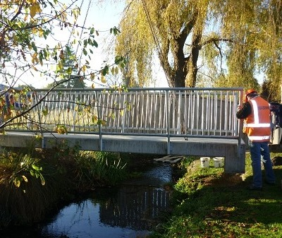 Sussex Street Masterton Foot bridge